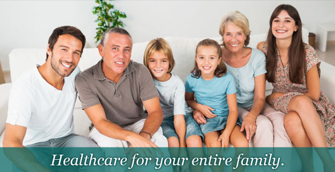 Healthcare for your entire family